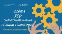 WEB CONFERENCE - les 22è RDV SST : Combiner activité et santé au travail