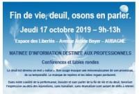 """Matinée d'information """"Deuil"""" professionnels"""
