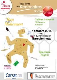 Théâtre interactif à Barcelonnette