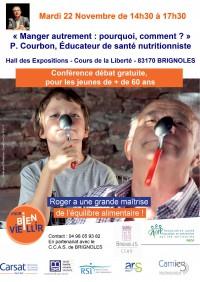 Conférence nutrition, Brignoles