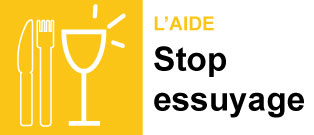 Stop essuyage page